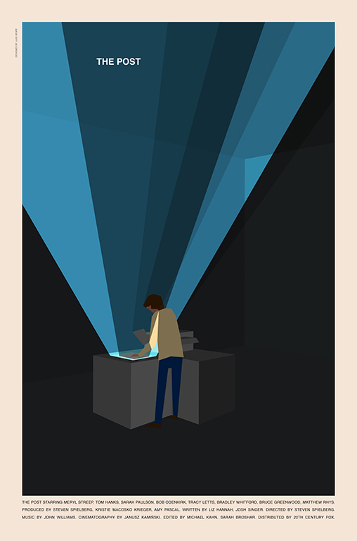 The Post poster by Luigi Segre
