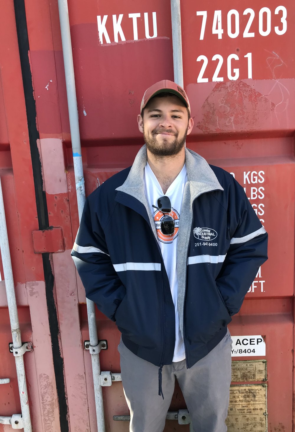 "JAKE BUSHAW - SALES- BALDWIN AND SURROUNDING COUNTIES""I'm Jake and I am 23 years old. I've lived in Baldwin County for most of my life and have been working at Coastal for 4 years. I love working in sales because I enjoy the lasting relationships built with people and their companies and helping people flourish within their line of work. Outside of work I enjoy tending to my rooftop garden and competing in nationwide chess tournaments. If you have any questions or need a quote I'm happy to help jake@coastalindsupply.com """