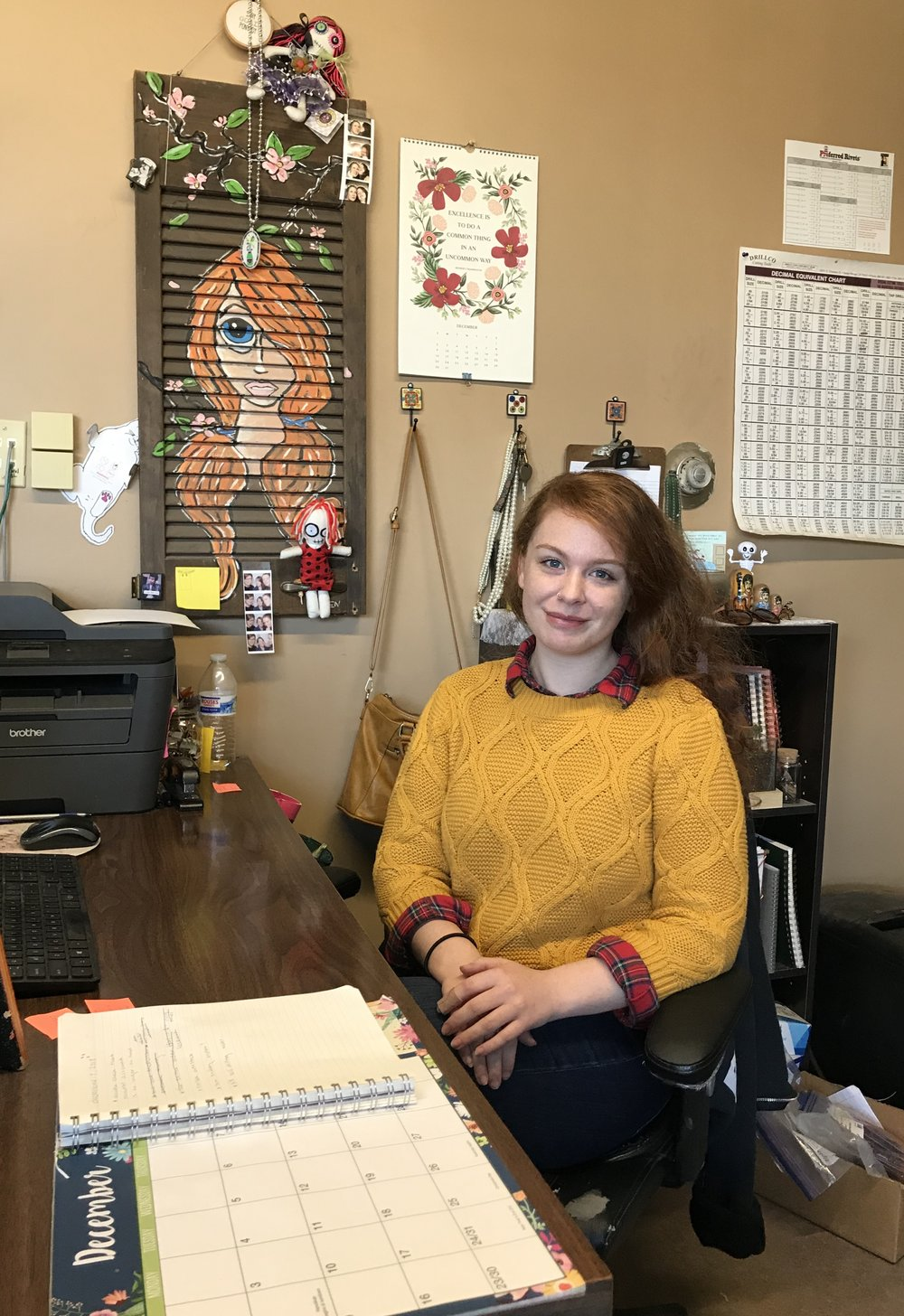 "SHELBY FALLO - INSIDE SALES REP""I'm Shelby and I am 23 years old. I've lived in Baldwin County for 16 years and have worked at Coastal for 5 years. I love working in inside sales because I enjoy the challenging atmosphere that keeps me constantly learning and strengthening my skills helpful both in and out of the workplace. What I like most about sales is the feeling of being an integral part of helping someone complete a unique project Outside of work I enjoy reading and taking pictures. If you have any questions or need a quote I'm happy to help, shelby@coastalindsupply.com """