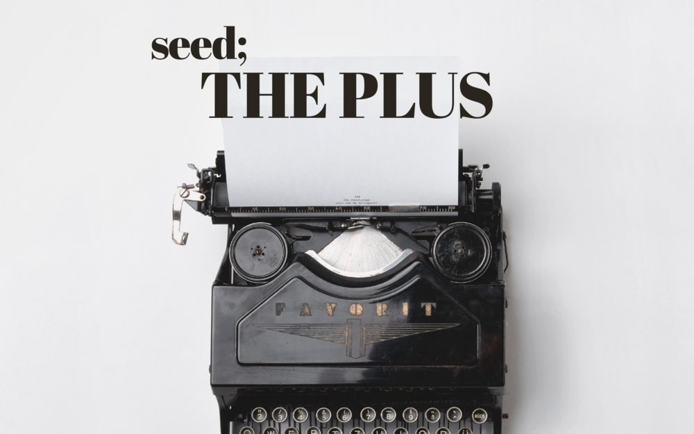 seed; interview | The Plus X Design Seeds