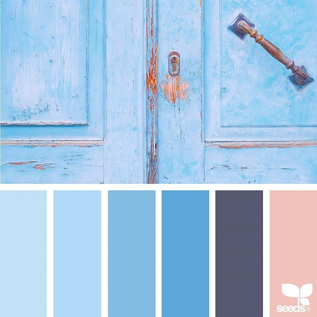 today's inspiration image for { a door color } is by @rotblaugelb ... thank you, Julia, for another gorgeous #SeedsColor image share!
