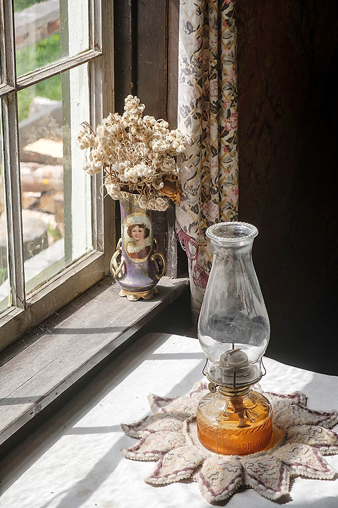 Lamp & Vase