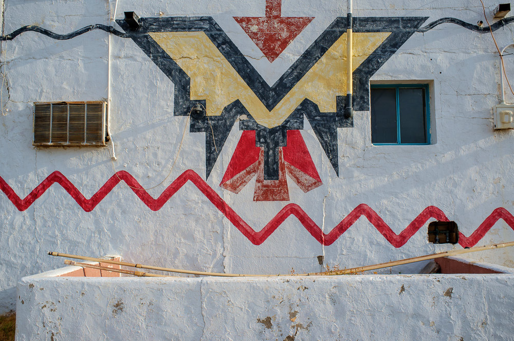 Motel Wall