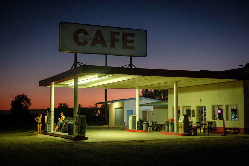 """""""Closed For The Night""""   Route 66 - Amboy, California - 2018  #1806_USCA_24211"""