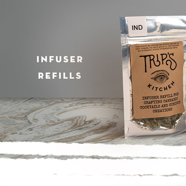 Keep on crafting your own cannabis concoctions with our Trip's Infuser Refills! Find your favorite strain and keep on cooking.  #nwnectar #tripskitchen #infused #edibles #spokane #foodies #frenchpress #masonjars #washington #treats @treatsbytrip . . . _____________________________________ Disclaimer-This product has intoxicating effects and may be habit forming.  Marijuana can impair concentration, coordination, and judgment. Do not operate a vehicle or machinery under the influence of this drug. There may be health risks associated with consumption of this product. For use only by adults twenty-one and older. Keep out of the reach of children.