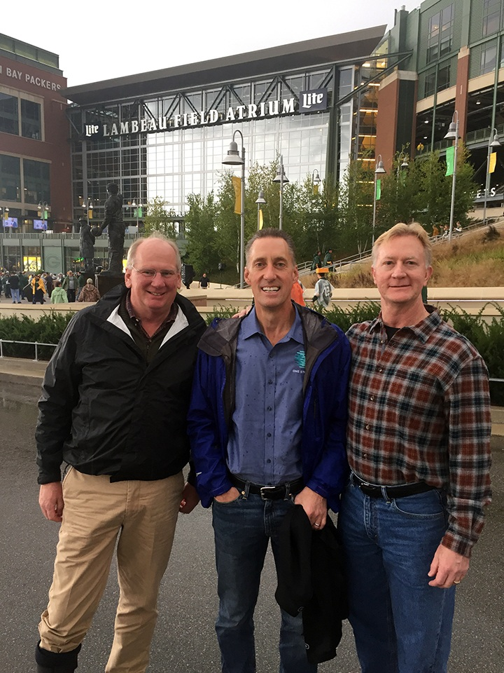President/CEO Micron Technology and General Counsel Micron (Trip to Lambeau Field - Packers 2017)