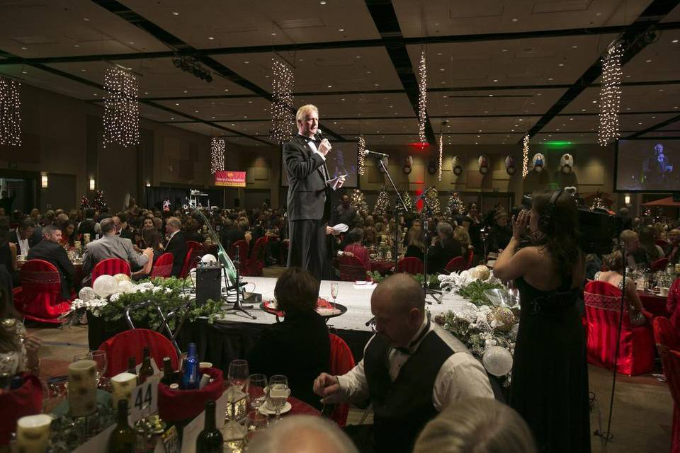 Rodney Reider at the Saint Alphonsus Health System Gala, Festival of Trees
