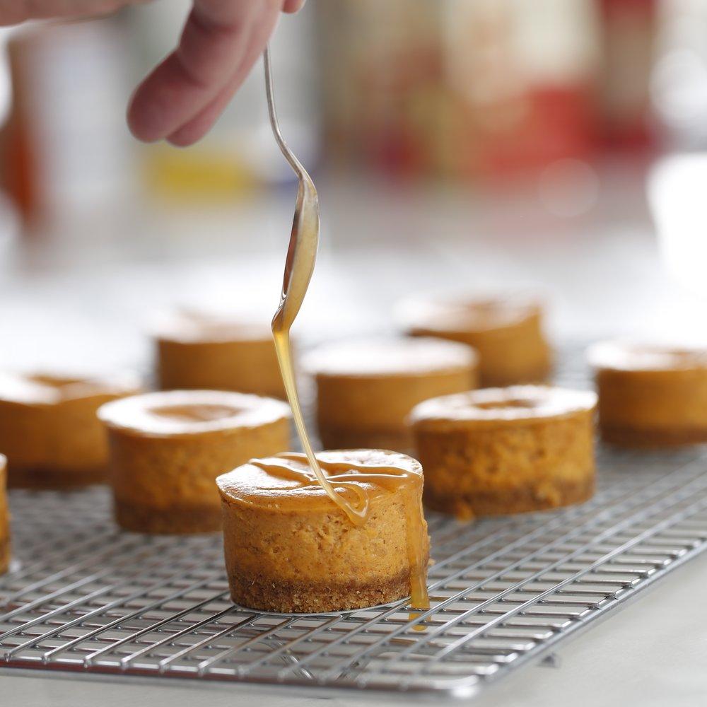 Pumpkin Cheesecakes (Silk)