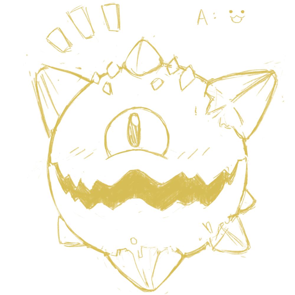 Happy little sketch