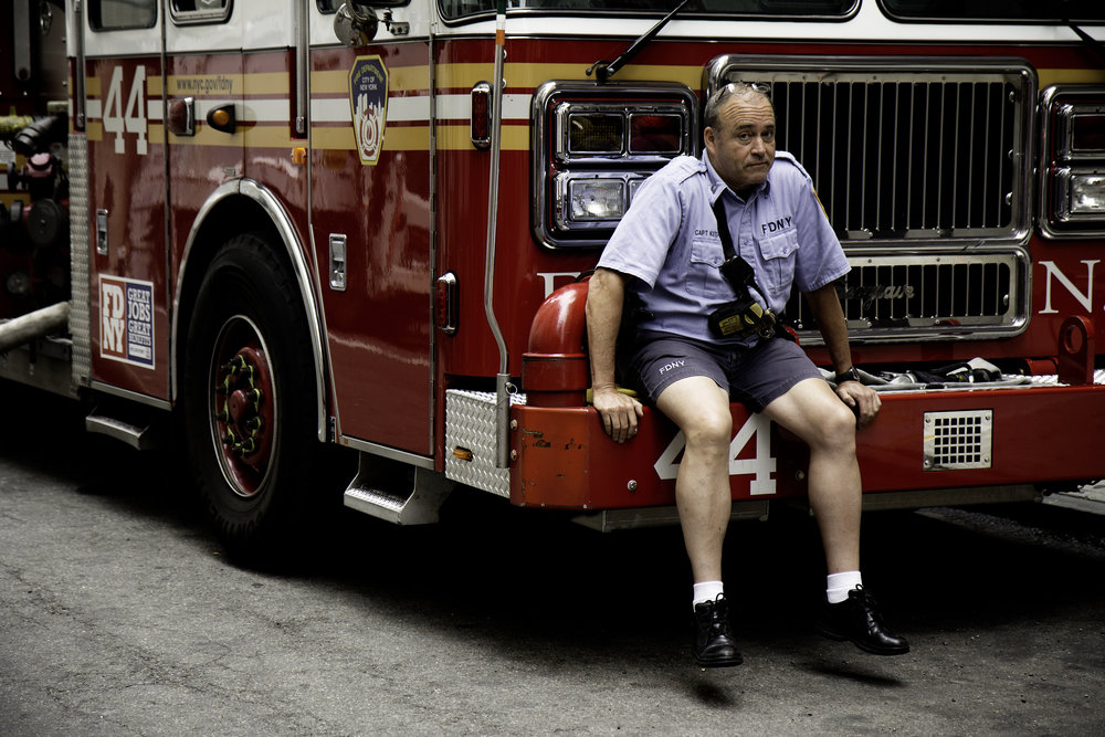 Firefighters tend to retire well before the Medicare-eligible age of 65.  (Photo via Unsplash)