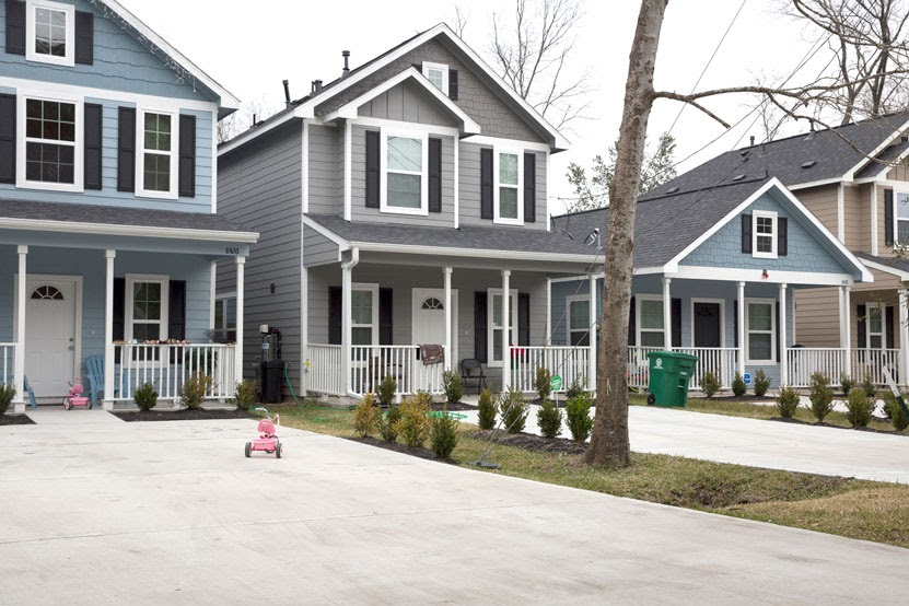 Mayor Turner has slowly made progress on his promise to build more affordable housing. Last year, he cut the ribbon on these new houses in Acres Homes, which range in price from $105,000 to $150,000.