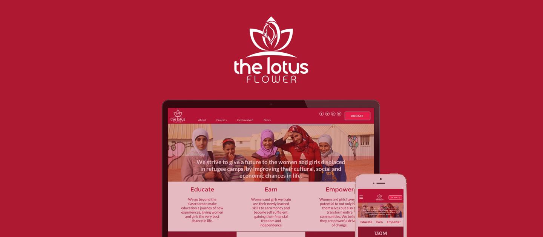 The Lotus Flower Charity Website Redesign Katerina Samoilis Ux