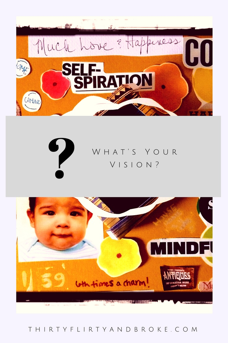 The Power of Vision Boards - Achieving your dreams while letting your creative energy flow.