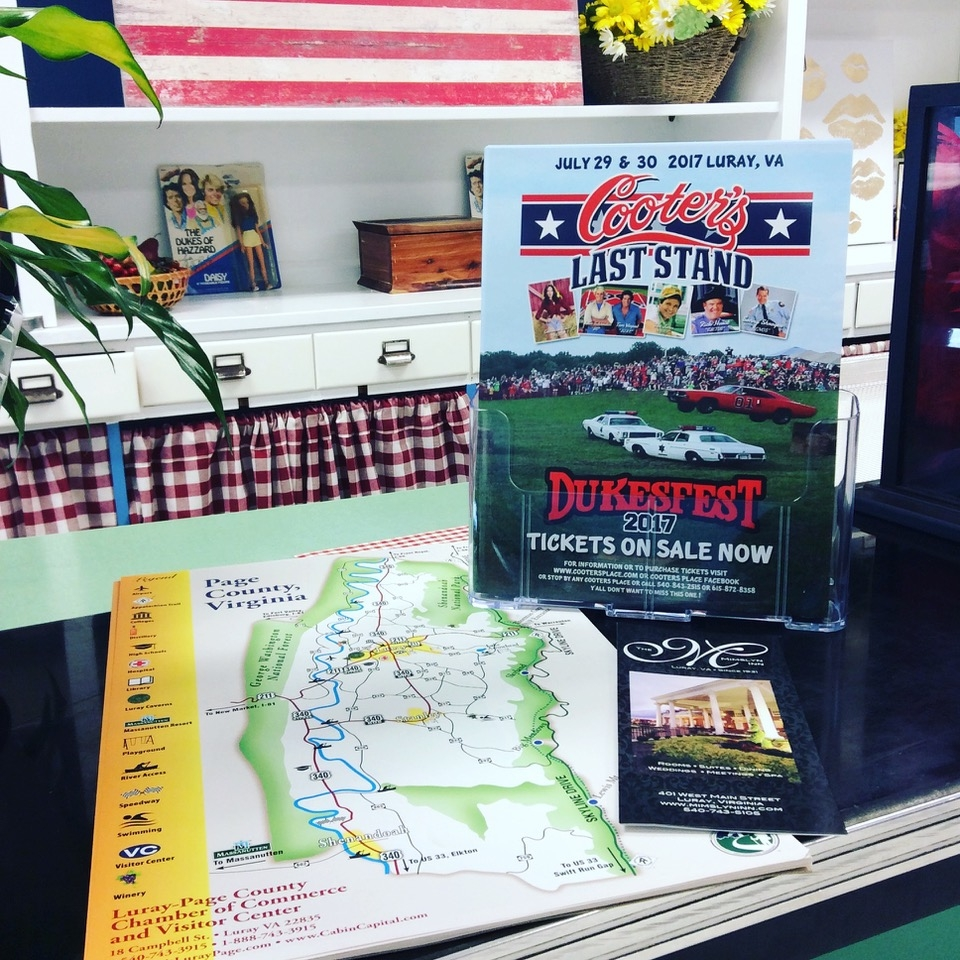 Dukes of Hazzard fun! - Cooter's in Page County - not your typical roadside attraction, Cooter's Place is loaded with Dukes of Hazard memorabilia (including the General Lee), gifts and family fun!