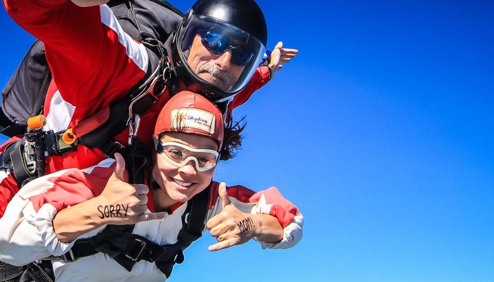 Skydive Abel Tasman -