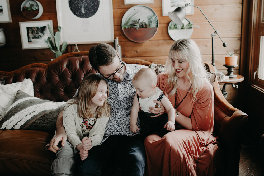Family Photo Courtesy Rachel Ebel Photography