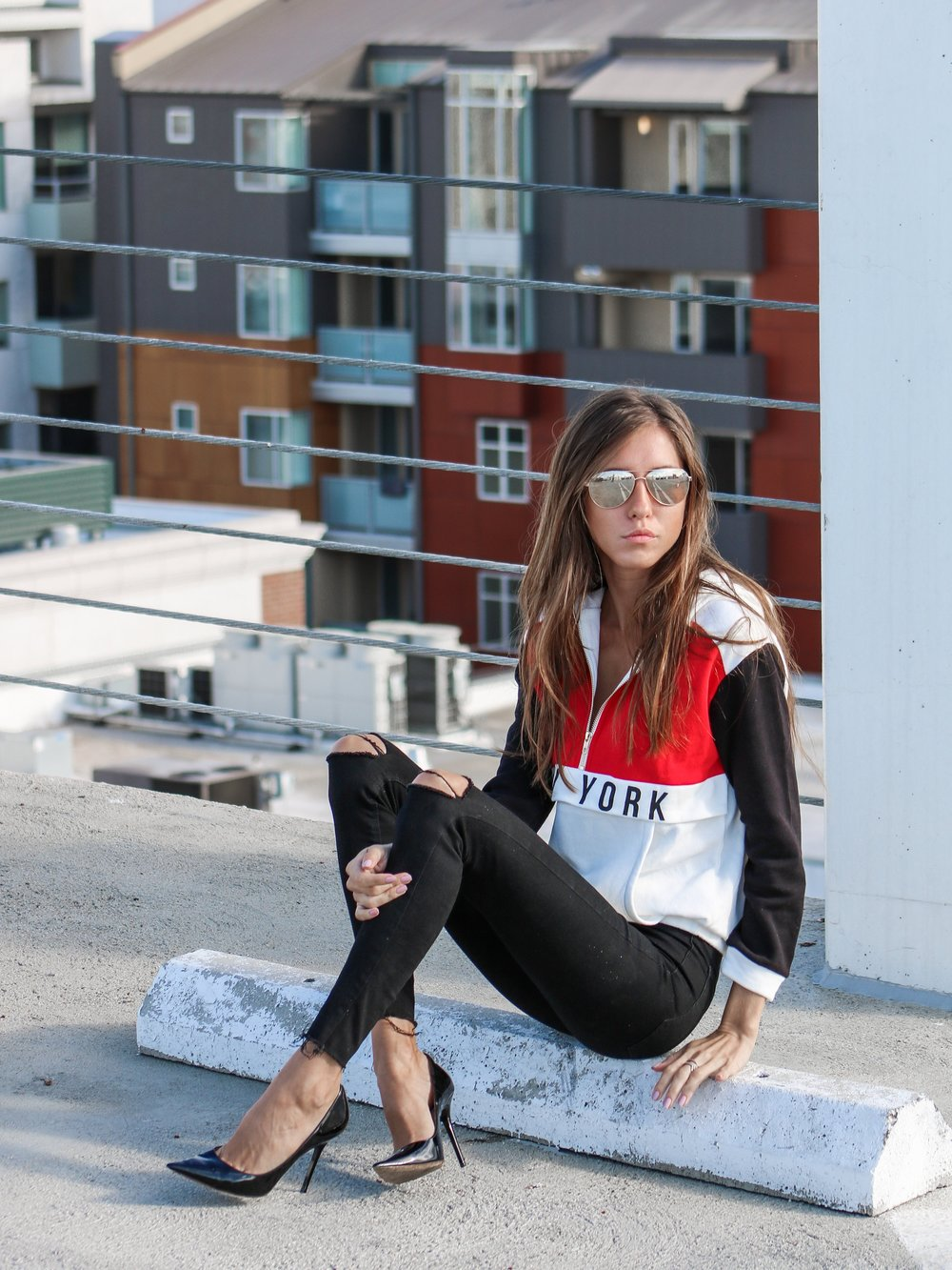 The Hungarian Brunette OOTD streetwear
