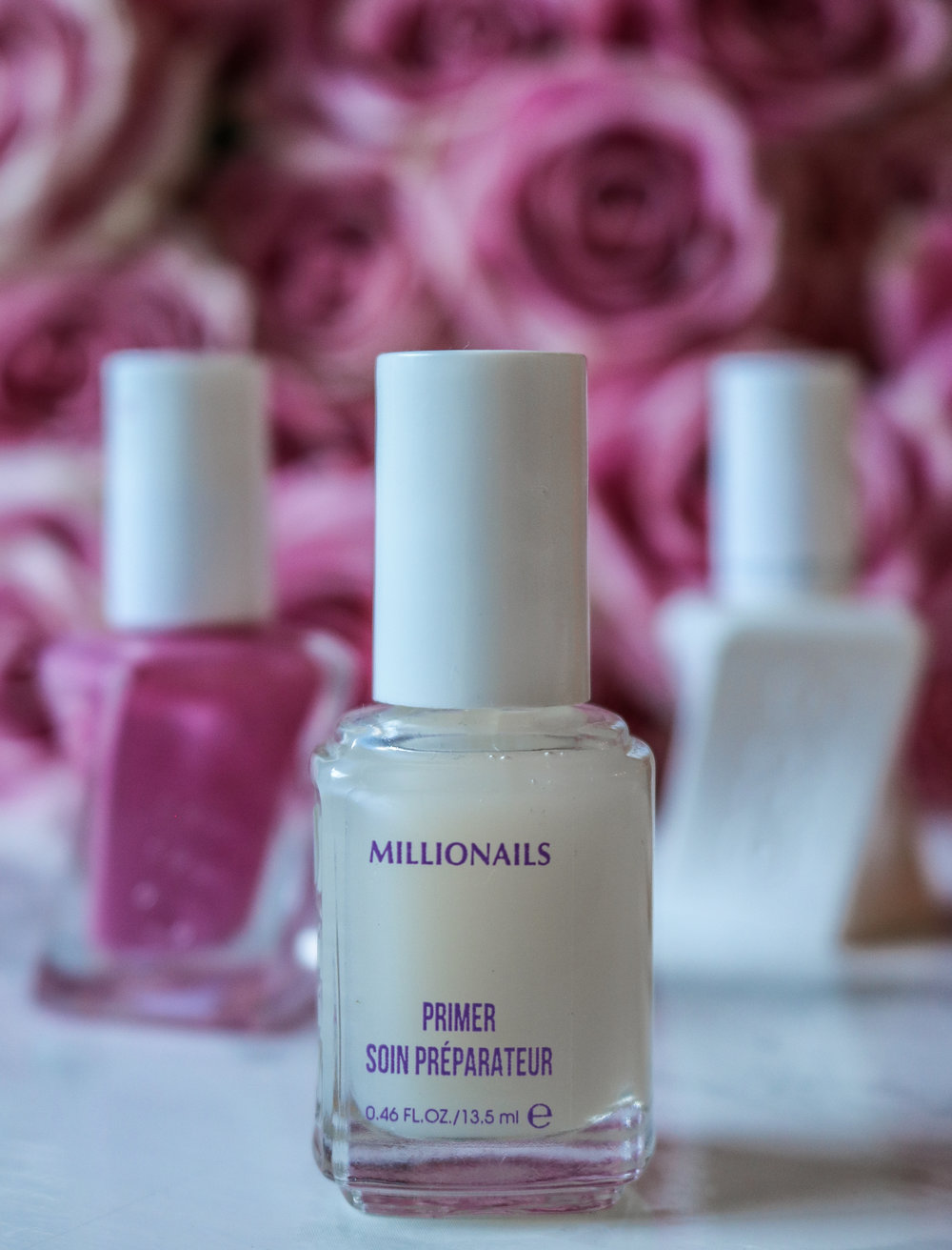 The Hungarian Brunette Essie Millionails primer strengthening nail treatment review