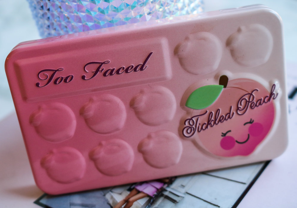 The Hungarian Brunette Too Faced Tickled Peach Eyeshadow palette review and swatches (3 of 5).jpg