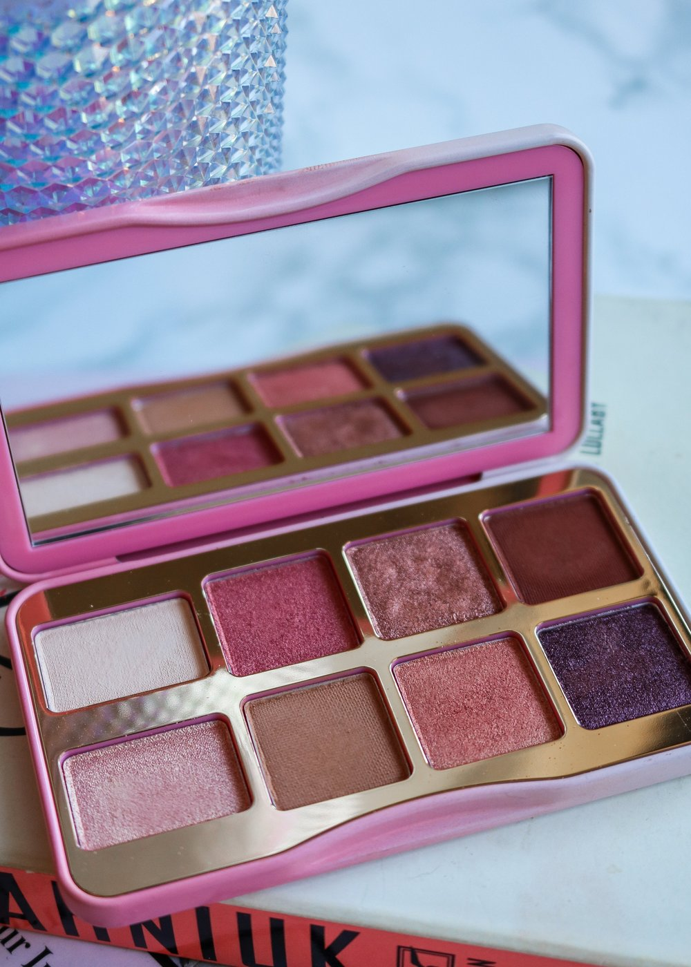 The Hungarian Brunette Too Faced Tickled Peach Eyeshadow palette review and swatches (1 of 5).jpg