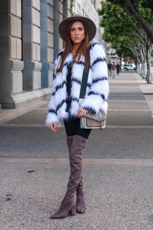 The Hungarian Brunette Black and white fur coat (1 of 80).jpg