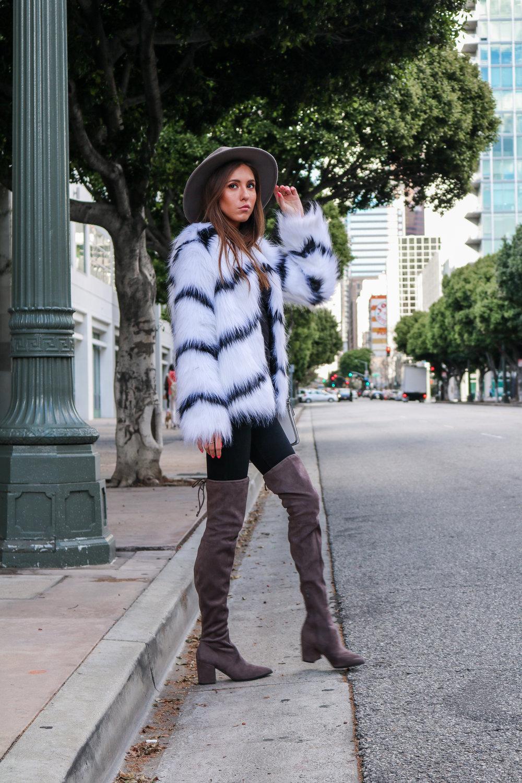 The Hungarian Brunette Black and white fur coat (27 of 80).jpg