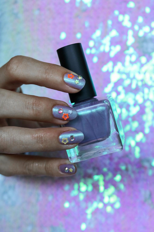 The Hungarian Brunette starry night nail art (3 of 7).jpg