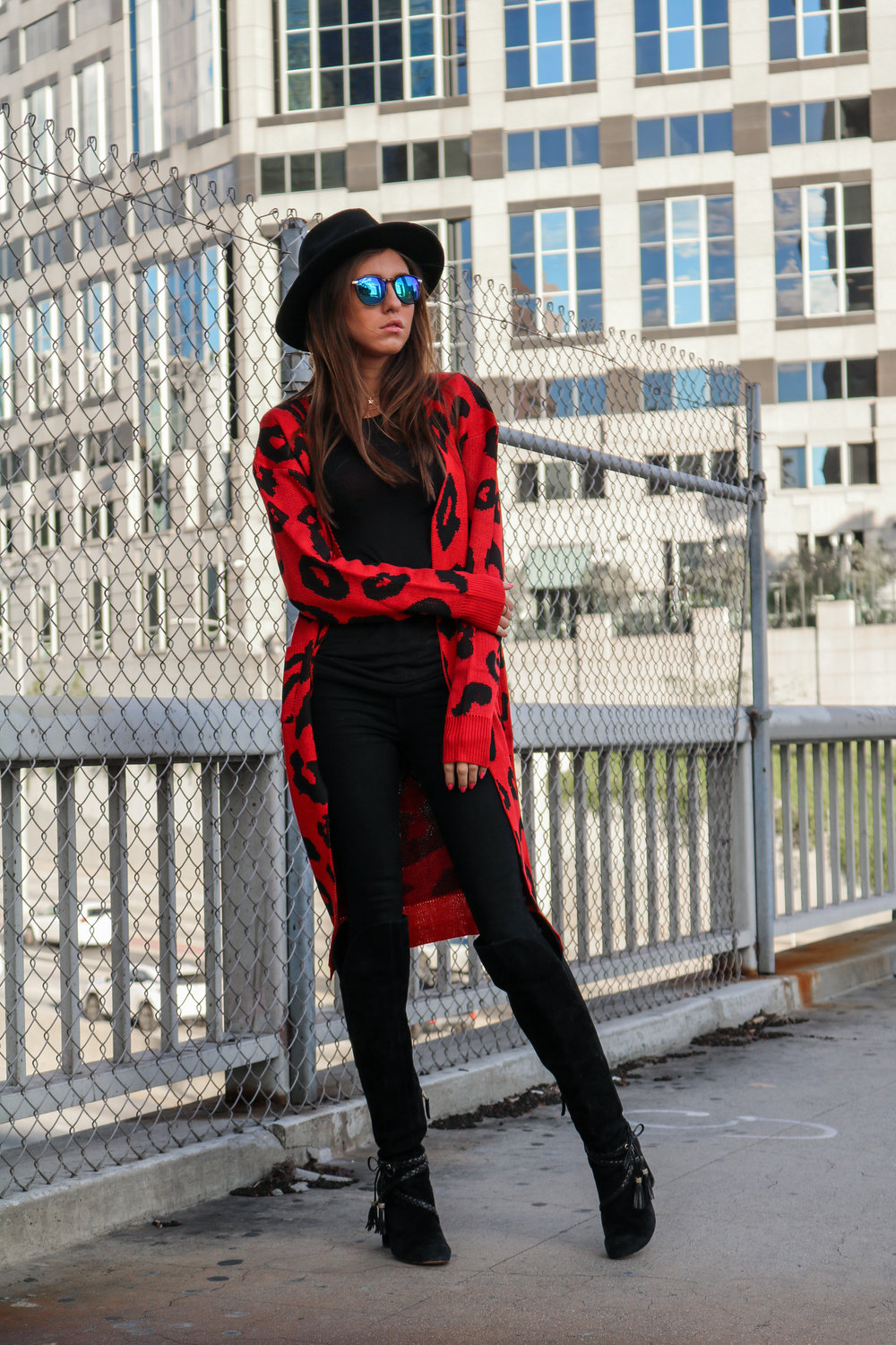 The Hungarian Brunette Black The red leopard cardigan 2 ways (2 of 39).jpg