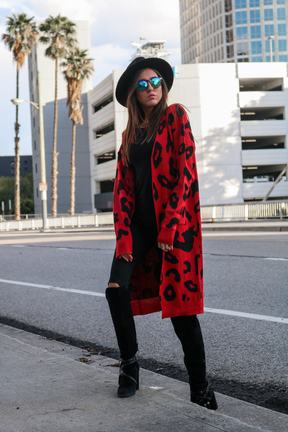 The Hungarian Brunette Black The red leopard cardigan 2 ways (11 of 39).jpg