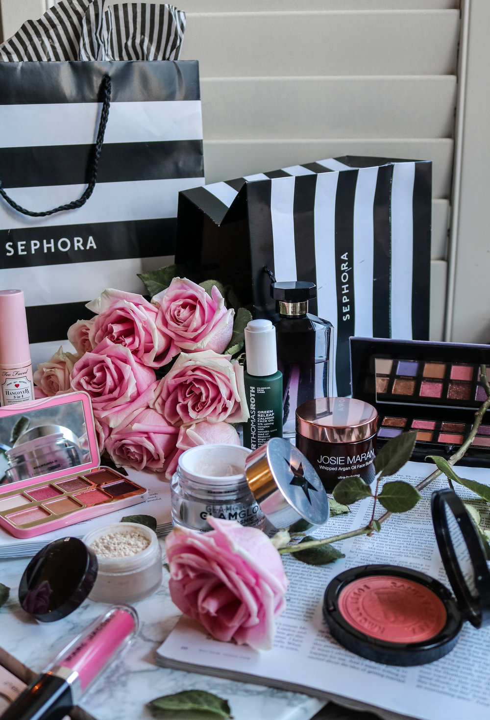 The Hungarian Brunette shopping at sephora, tips to get the best bang for your buck