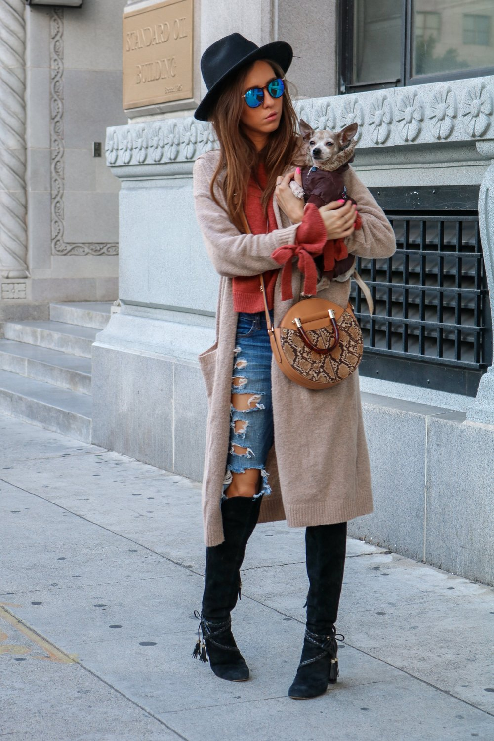 The+Hungarian+Brunette+Fall+colours+for+Spring+OOTD