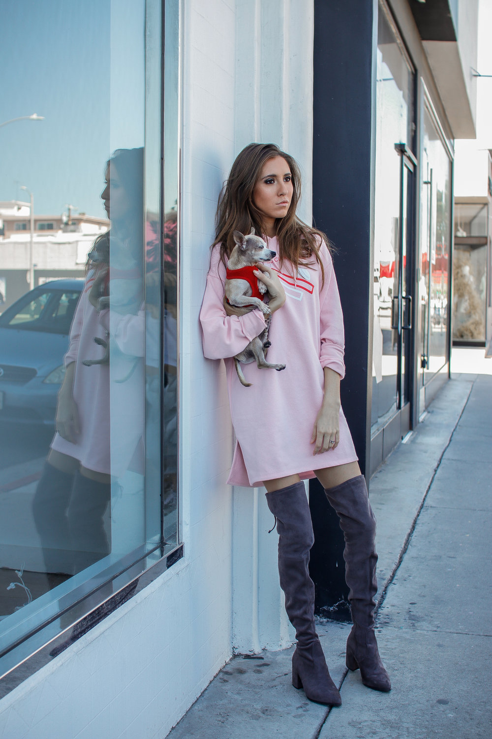 The Hungarian Brunette Pink sweater dress and OTK boots (9 of 11).jpg