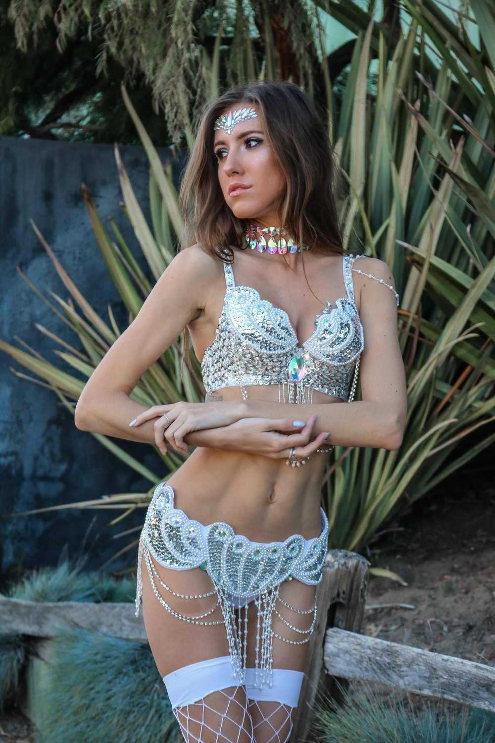 The+Hungarian+Brunette+Sparkle+overload%2C+carnival+inspired+silver+festival+outfit.jpg
