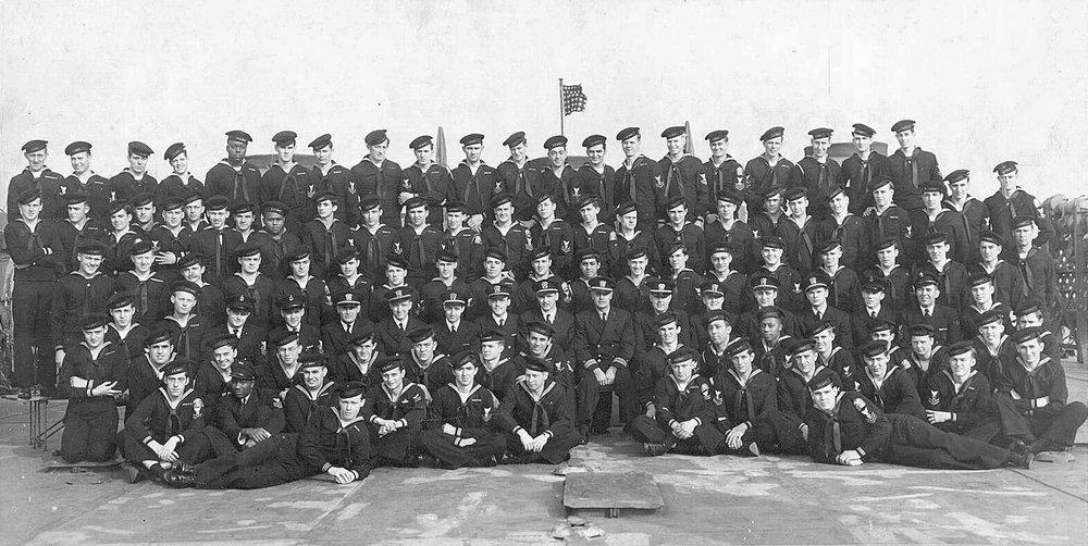 LST 325 Crew photograph, circa 1944