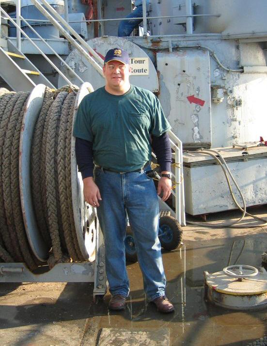 In Memoriam - Dave Bronson, USS LST 325 Volunteer, 1999-2013