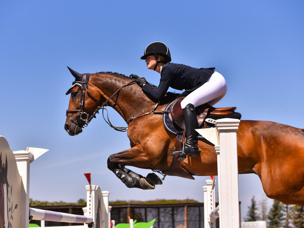 Jenn Gates and Alex at Sonoma International CSI2*. Photo by GrandPix Photography.