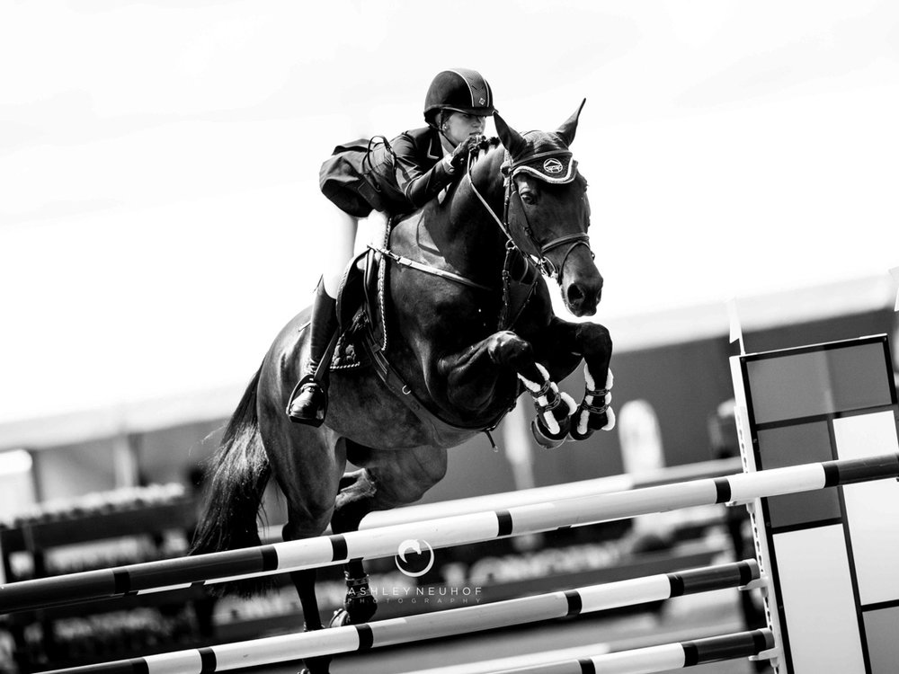 Jenn Gates and Cadence at Thunderbird, Langley CSI 2*. Photo by Ashley Neuhof Photography.