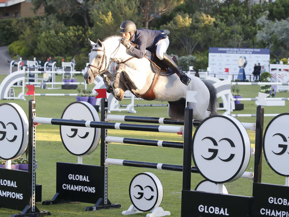 Gregory Wathelet and Mjt Nevados S at GCL Cascais. Photo by Stefano Grasso.