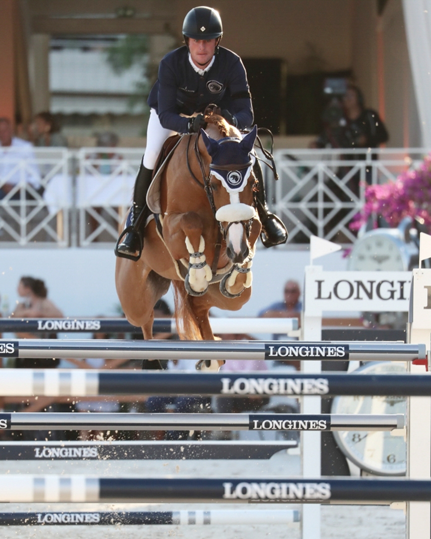 Darragh Kenny and Babalou 41 at the 2018 Global Champions League of Cannes. Photo by Sportfot.
