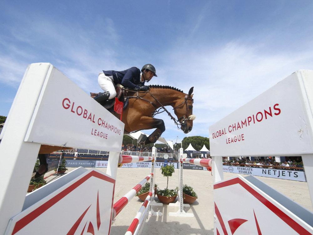 Nayel Nassar and Lordan at GCL St. Tropez. Photo by Stefano Grasso.