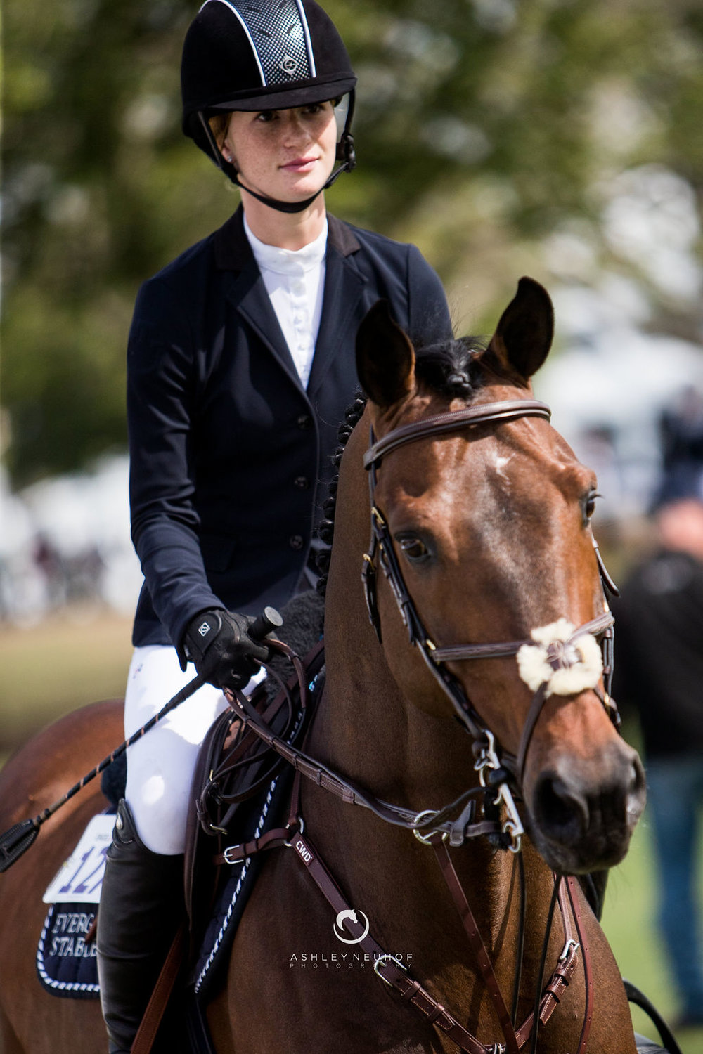Jenn Gates and Capital Colnardo at Palm Beach Masters 2019. Photo by Ashley Neuhof Photography.