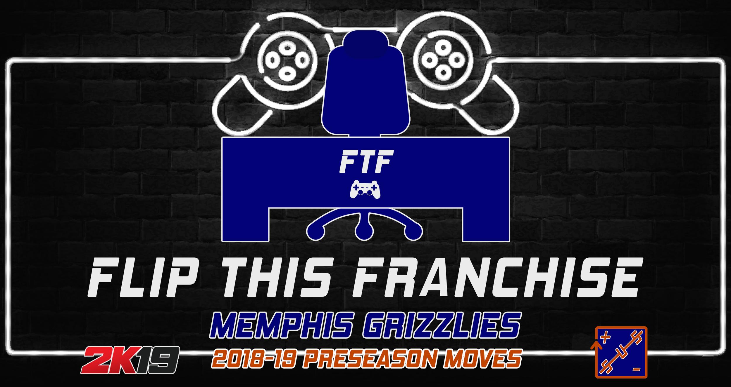 FTF Memphis Grizzlies - 2018-19 Preseason Moves — Straight