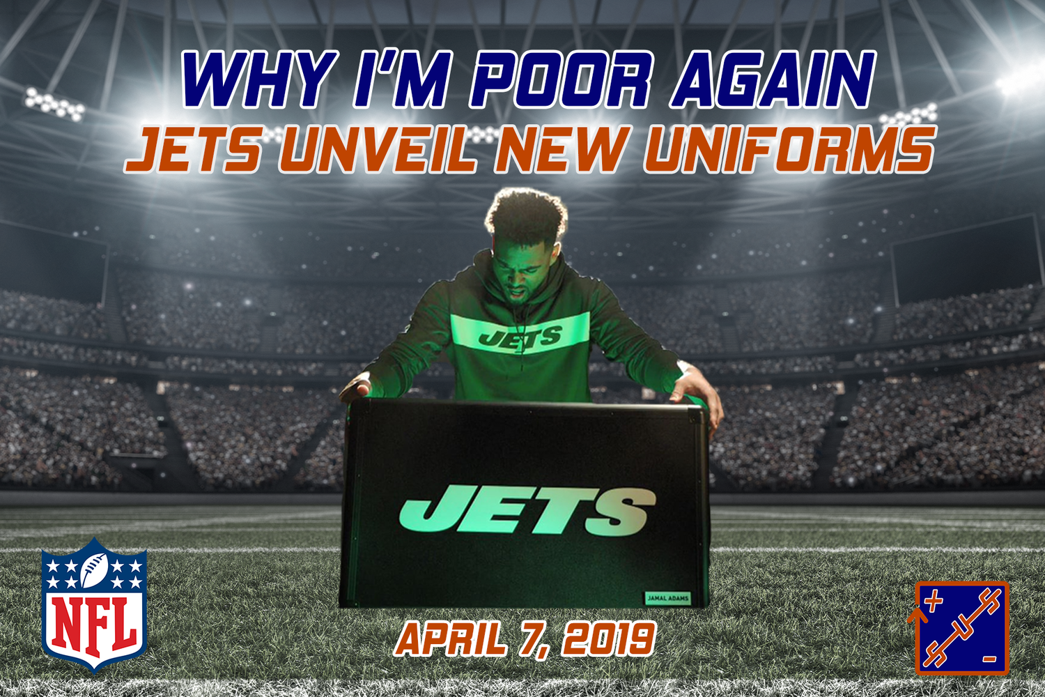 c1fab02b8 Why I m Poor Again  Jets Unveil New Uniforms — Straight Up Sports