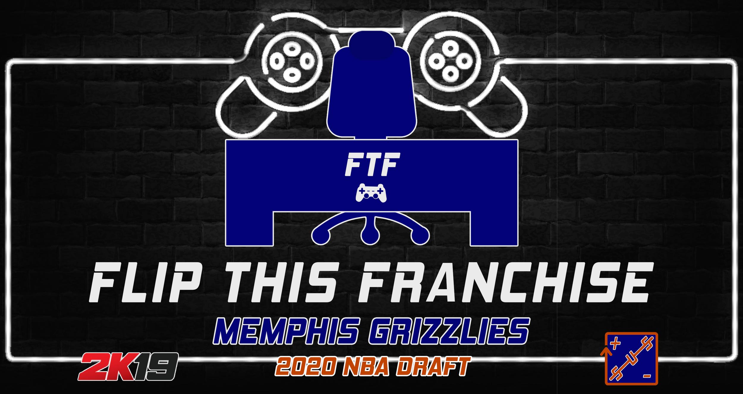 FTF Memphis Grizzlies - 2020 NBA Draft — Straight Up Sports