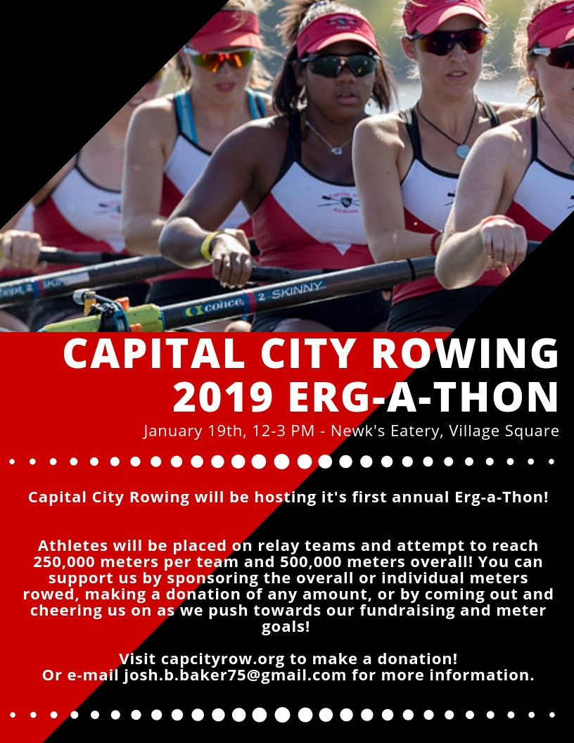 Support CCR! - To make an online donation, please visit HERE.To donate via cash or check, please contact Josh Baker at josh.baker@capcityrow.org.