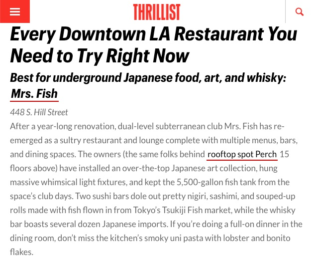 Thrillist LA Every Downtown Restaurant You Need to Try Right Now -