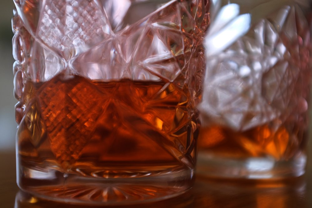 """Eric Gregory, President of the Kentucky Distillers' Association - """"My favorite way to drink Kentucky bourbon is on the rocks, just as the frosty chill hits the glass. That's how my father enjoyed his evening drink on the patio with the afternoon newspaper. One day when I was coming of age, I mixed a bourbon and Coke, grabbed the sports section and pulled up a chair next to him. He glanced over the paper and said, 'Son, what do you think you're doing?' I explained that it had been a rough day at work and I wanted to relax. He replied, 'I understand that, but don't ruin my good bourbon with pop. Drink it on the rocks, or neat, or buy your own.' I never mixed my bourbon with soda again."""""""