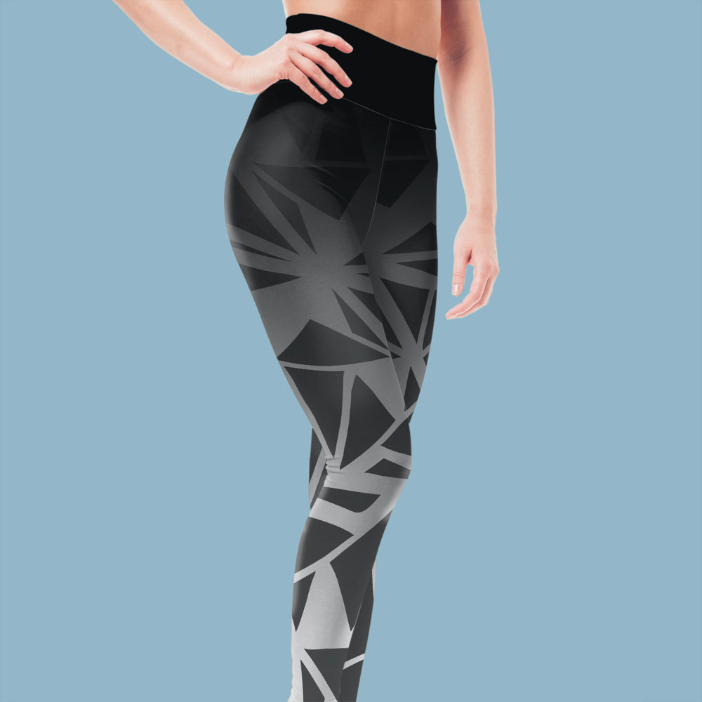 Synergia pattern can be used on apparel and accessories. -