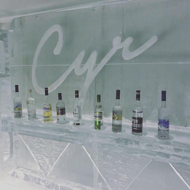 Dégustez une de nos 30 vodkas à -30C dans notre ice bar ❄️☃️ • • • • • #cyr #sainthenri #bardequartier #vodkabar #icebar #montreal #mtlmoments #mtl #vodka #vodkatasting