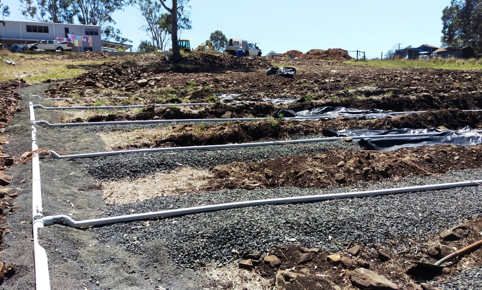 On-site wastewater system installation_Lismore